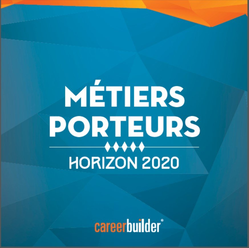 les m u00e9tiers porteurs  u00e0 horizon 2020   le nouveau livre