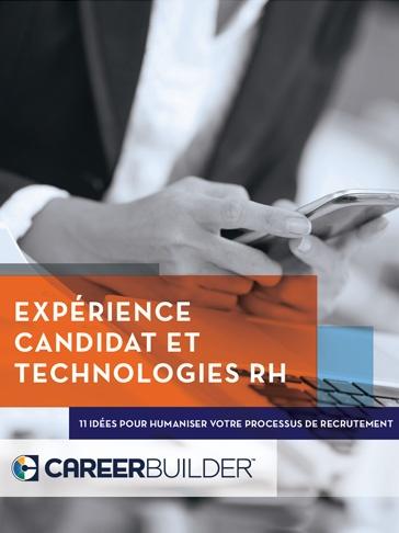 Expérience candidat et technologies RH